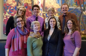 A shot of the ClimateActionWR team