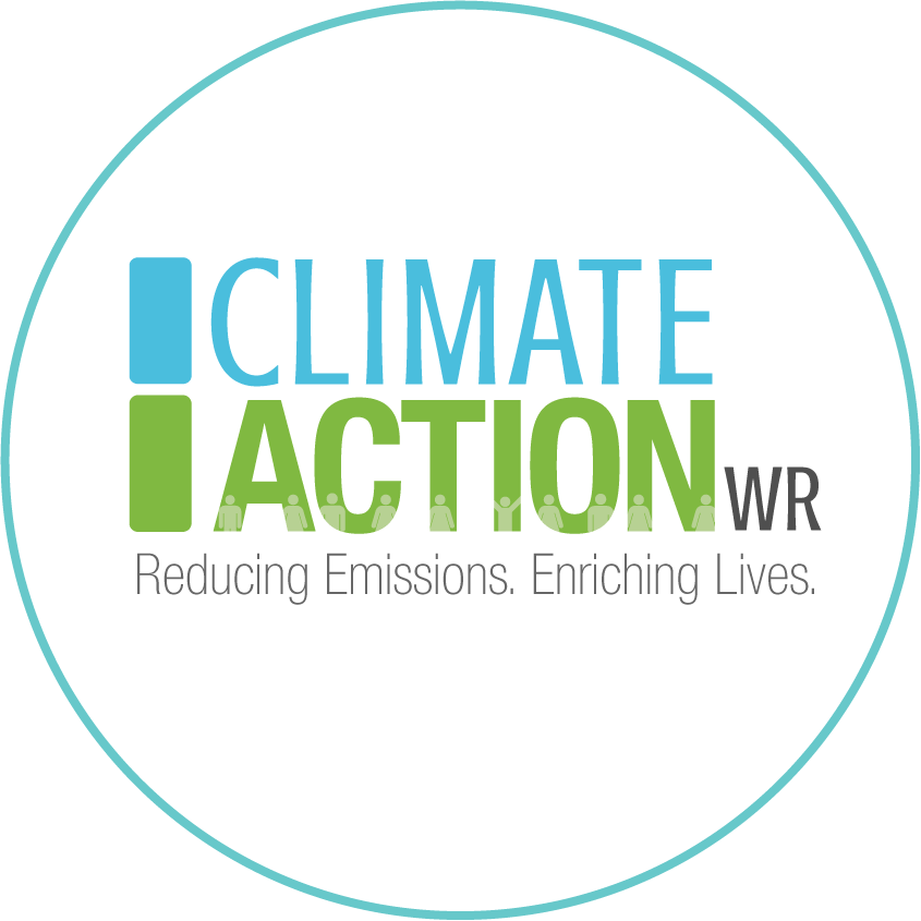 The ClimateAction Logo in a circle