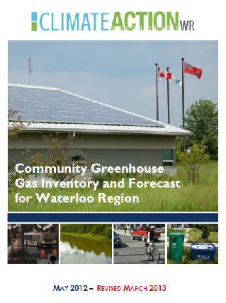 Community Greenhouse Gas Inventory and Forecast Report for Waterloo Region